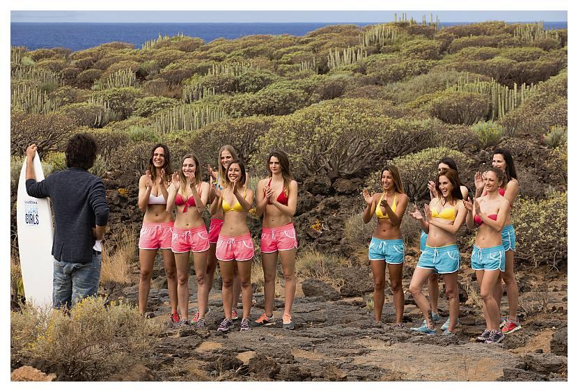 "Reality show ""CALZEDONIA OCEAN GIRLS"""