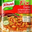 NOWOŚĆ! Fix Knorr Danie orientalne z kurczakiem ? zabierz się w egzotyczną podróż smaku