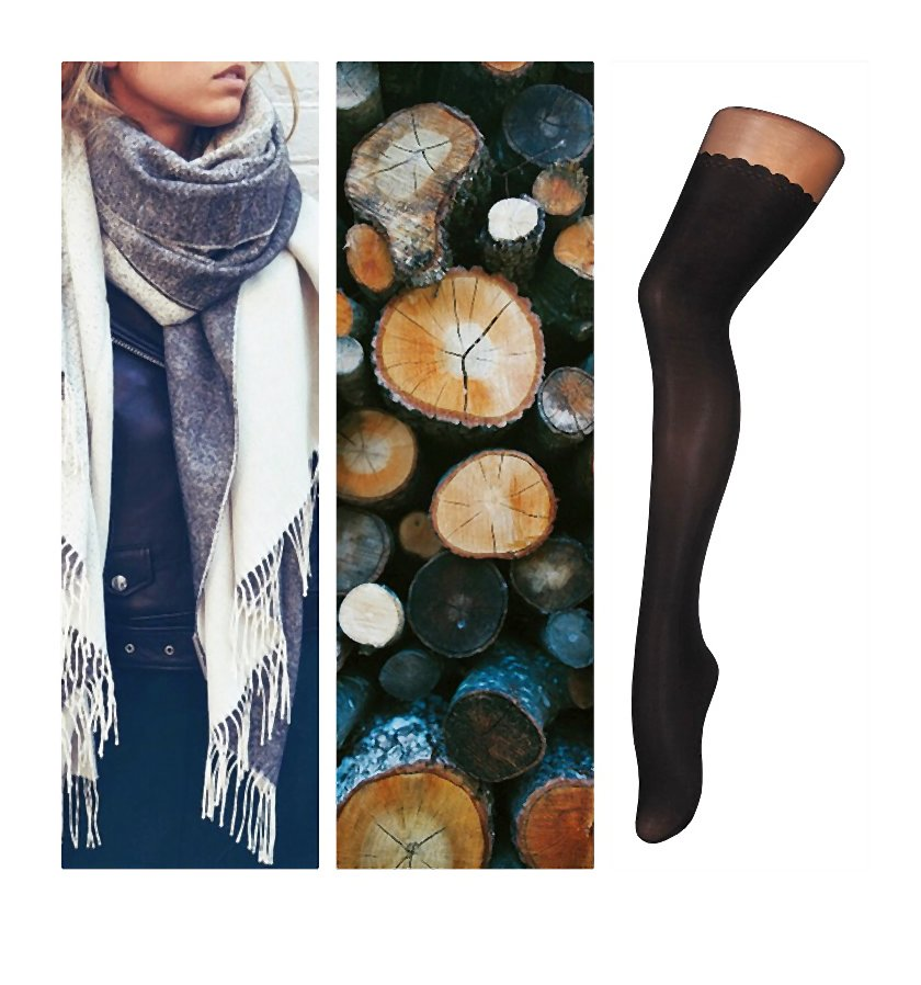 Tej jesieni rządzą wzory i trzy mocne kolory: szarość, brąz i klasyczna czerń
