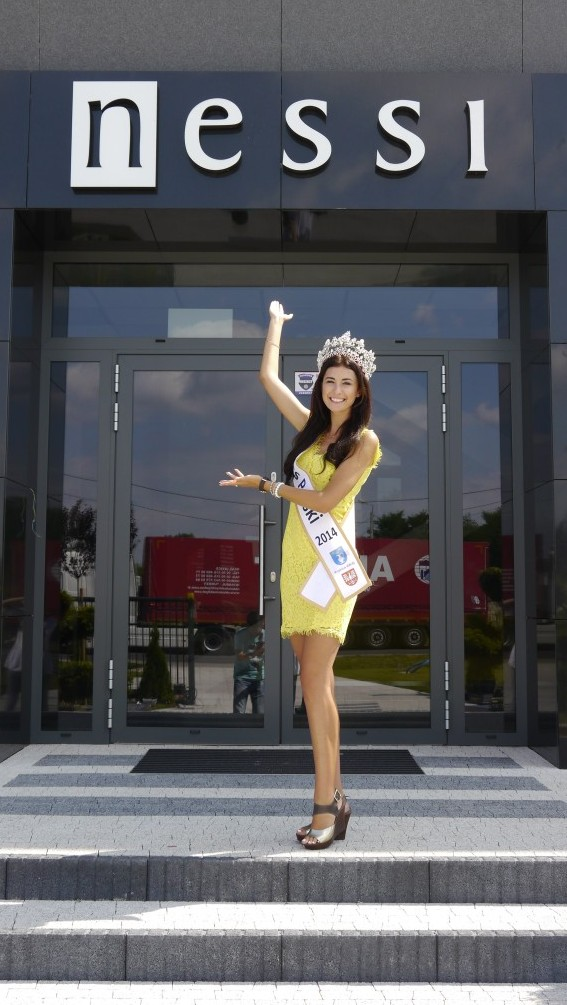 Ewa Mielnicka, Miss Polski 2014 projektuje dla Nessi
