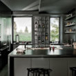 Elegancja ciemnych matowych wykończeń w kuchni