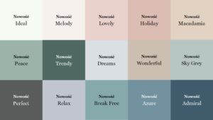 Nowe odcienie w palecie Beckers Designer Colour