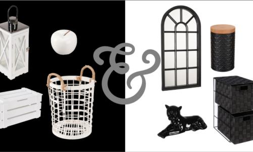 Black & white – sprawdzony pomysł na wnętrze