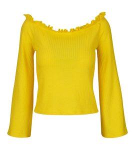Fokus na kolor: żółto–szare stylizacje